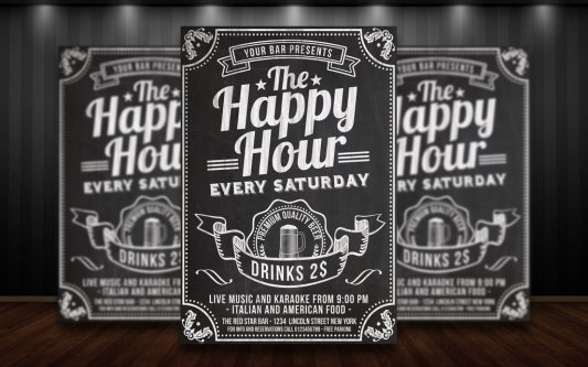 happy_hour_chalkboard_flyer_by_matteogianfreda94-d8hcn5p